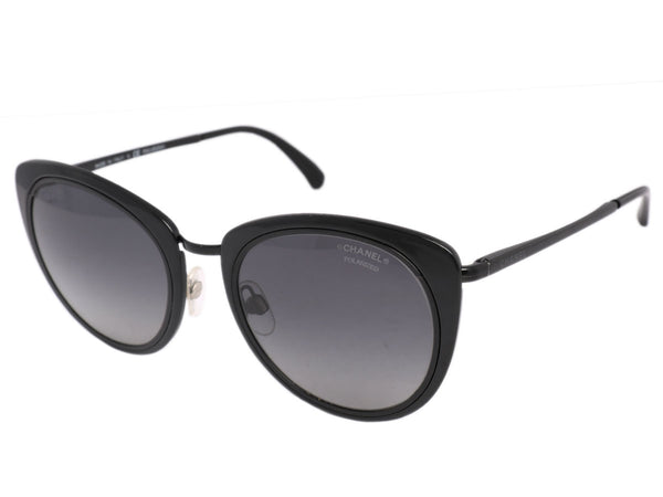 Chanel Black Cat Eye Sunglasses
