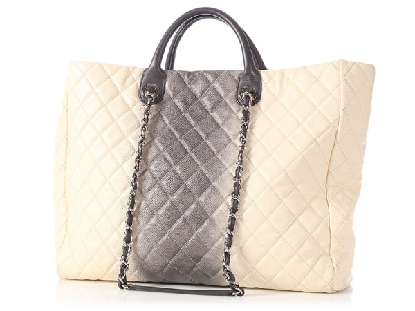 Chanel Large Ombre Caviar Shopper