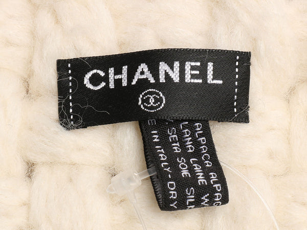 Chanel Cream Métiers d'Art Scarf