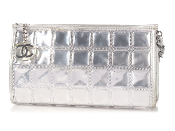 Chanel Silver Ice Cube