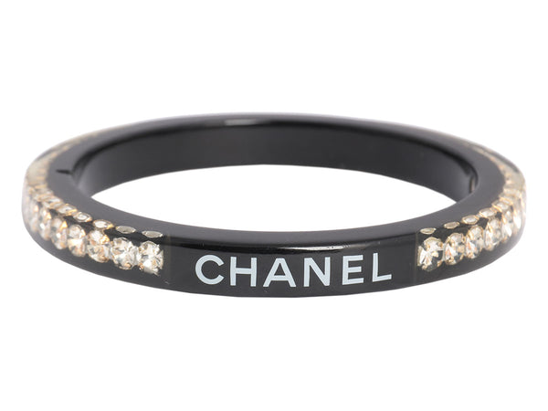 Chanel Crystal and Resin Bangle