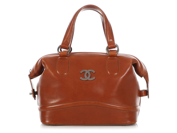 Chanel Cognac Calfskin Country Ride Doctor's Bag