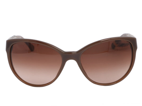Chanel Brown Chain Sunglasses