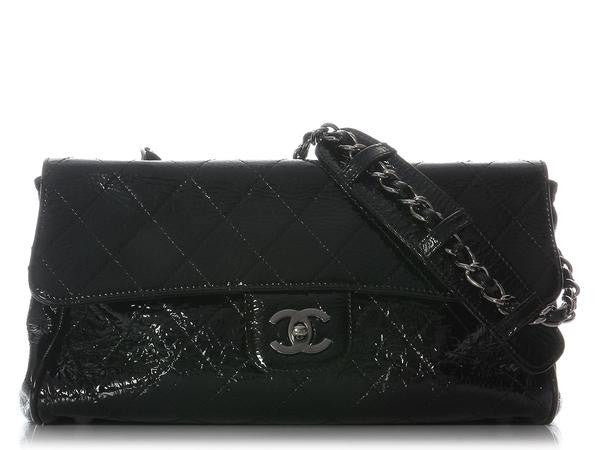 Chanel Black Patent Ritz