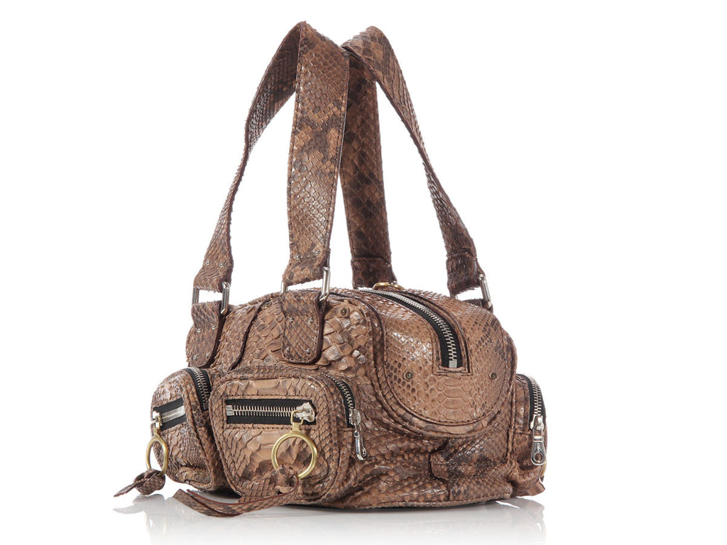 Chloé Small Café Python Betty