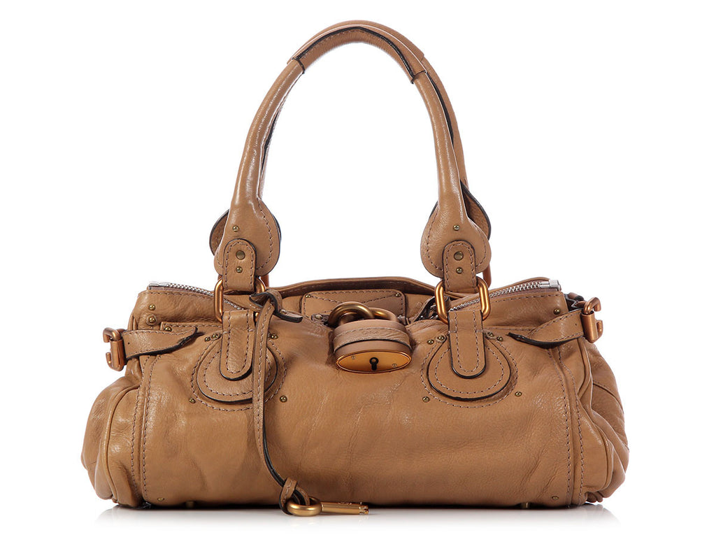 Chloé Light Brown Paddington