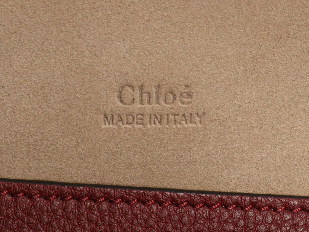 Chloé Medium Burgundy Kurtis