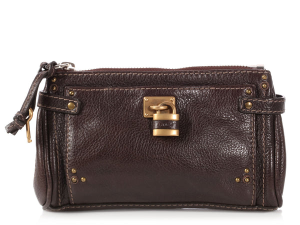 Chloé Brown Paddington Pouch