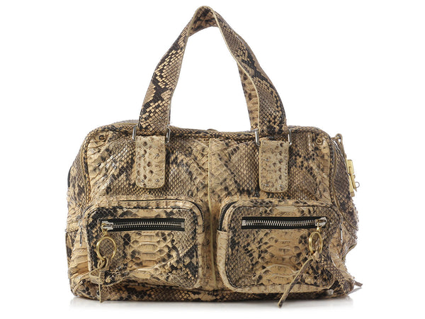 Chloé Natural Python Betty