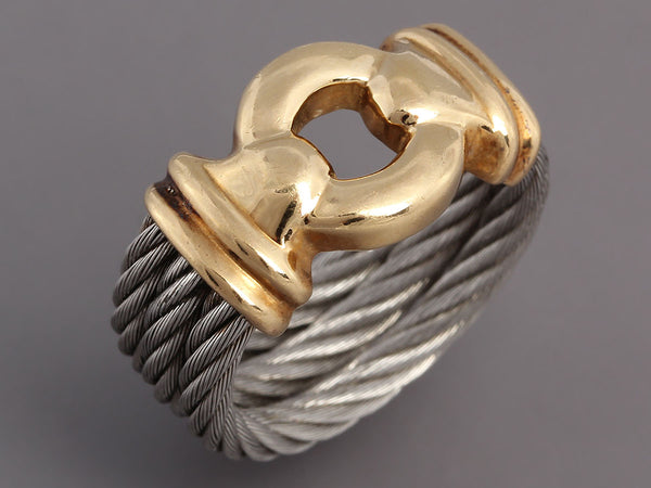 Charriol Women's Nautical Cable Ring
