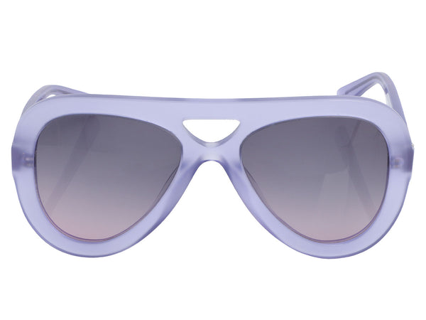 Derek Lam Purple Charlotte Sunglasses