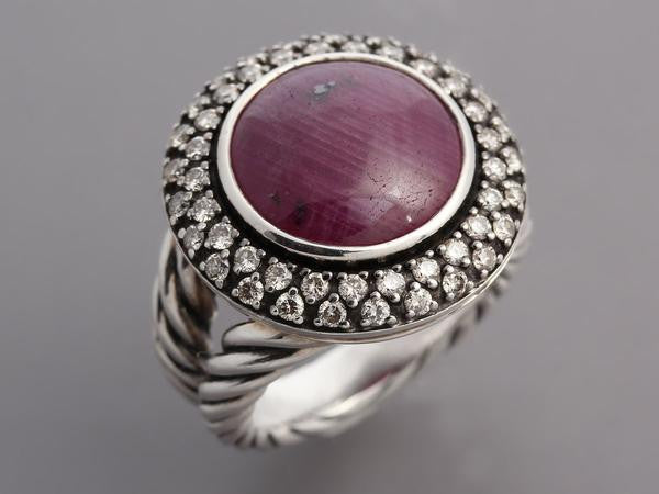 David Yurman Ruby Albion Ring