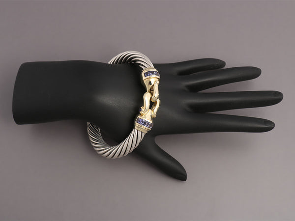 David Yurman Iolite Renaissance Bangle