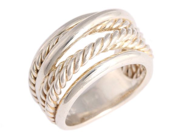 David Yurman Sterling Silver Crossover Ring
