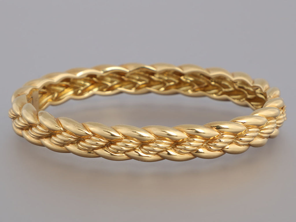 David Yurman 18K Yellow Gold Bangle