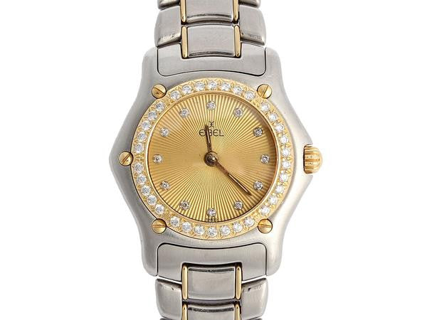 Ebel 1911 Ladies Diamond Two Tone Watch