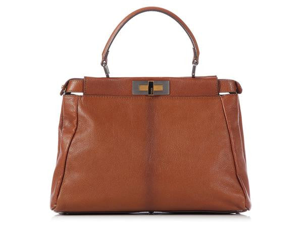 Fendi Brown Peekaboo