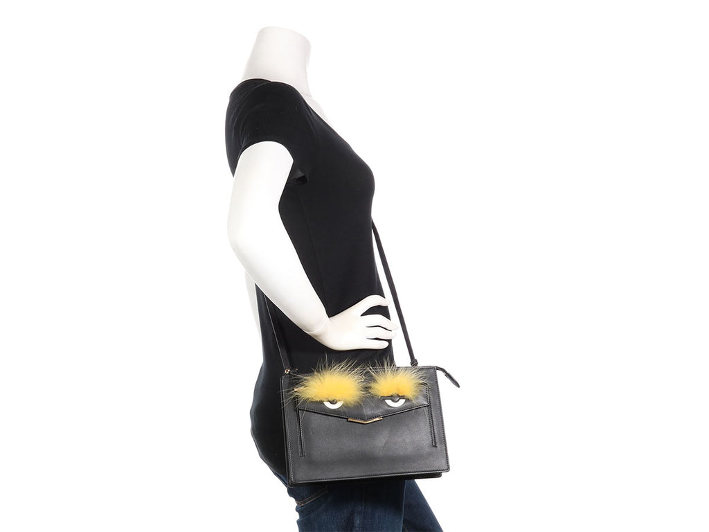 Fendi Black Monster Crossbody