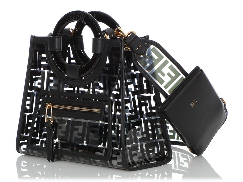 Fendi Small Black Runaway Shopper