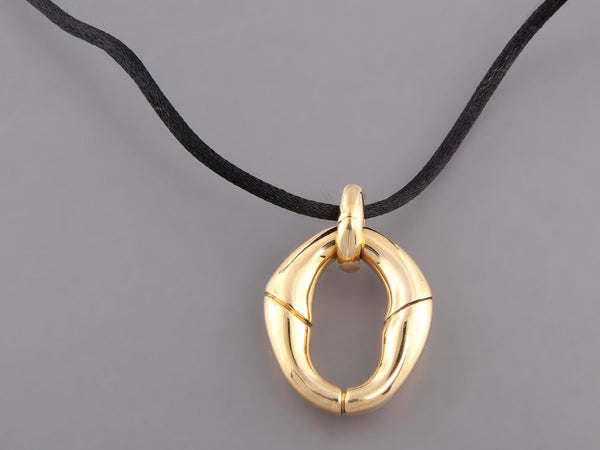 Gucci Gold Bamboo Necklace