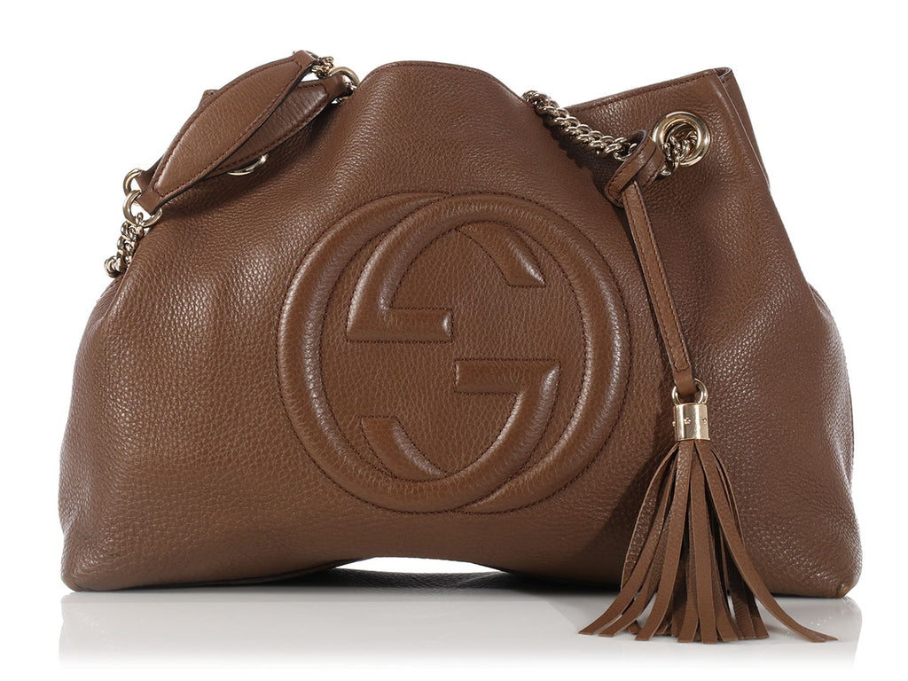 Gucci Medium Maple Soho Shoulder Bag