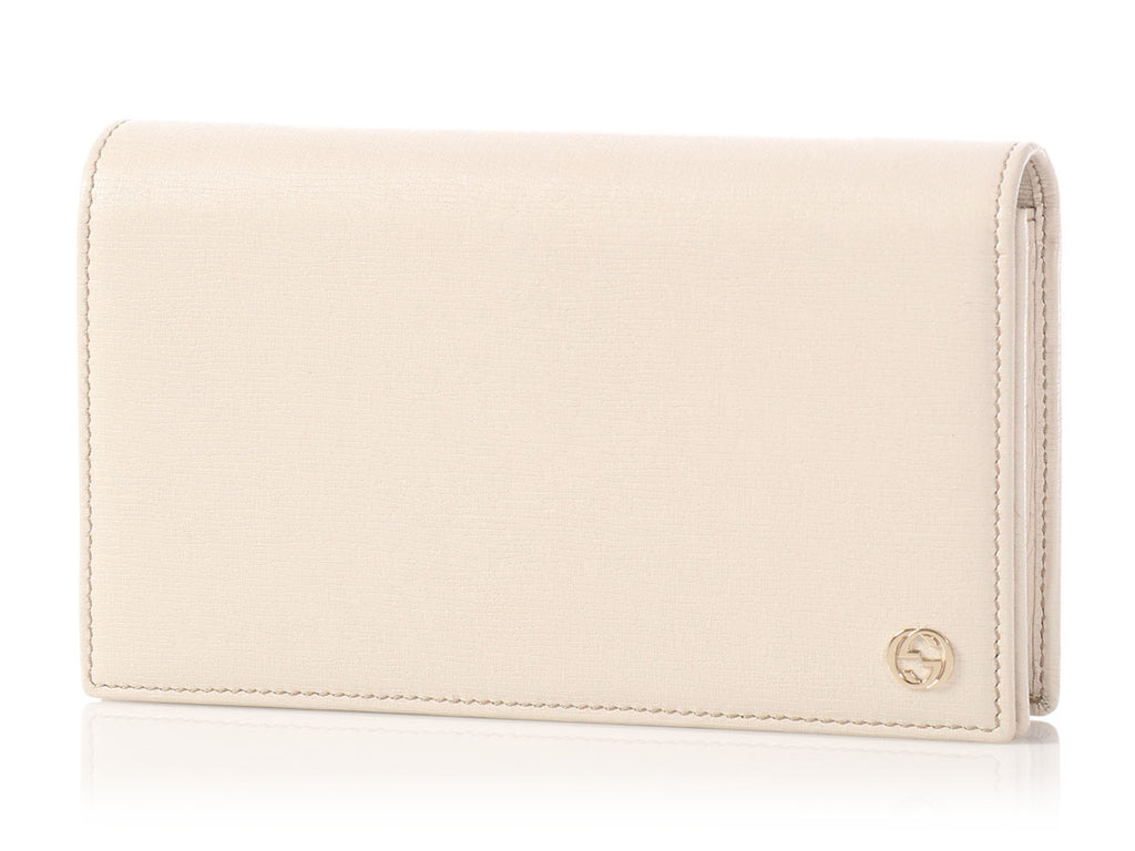 Gucci Cream Betty Chain Wallet