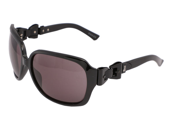 Gucci Black Queen Bow Sunglasses