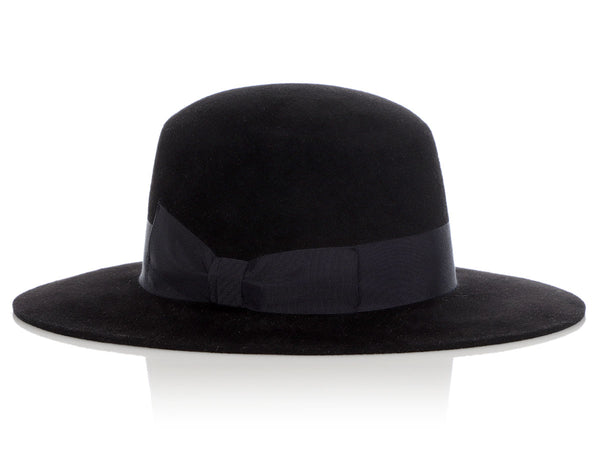 Gucci Black Wide Brimmed Hat