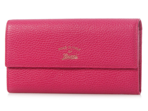 Gucci Fuchsia Swing Wallet