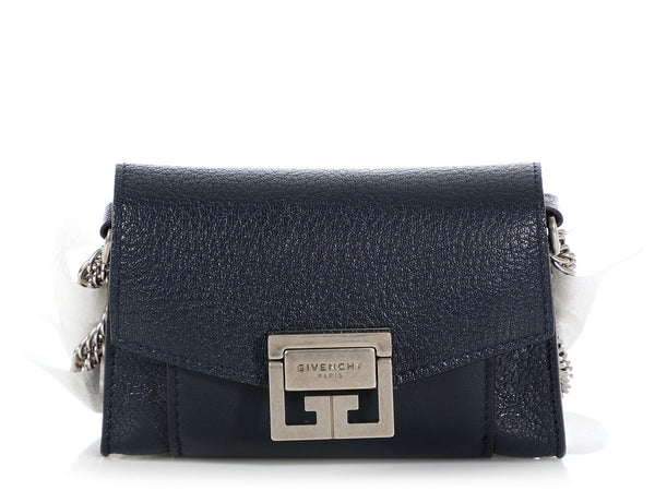 Givenchy Dark Blue Nano GV3 Pouch
