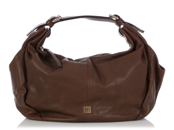 Givenchy Medium Brown Leather Hobo