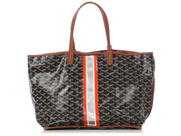 Goyard Black Anjou Reversible Tote PM