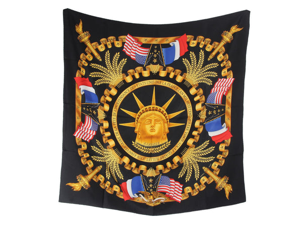 Hermès Statue of Liberty Anniversary Scarf