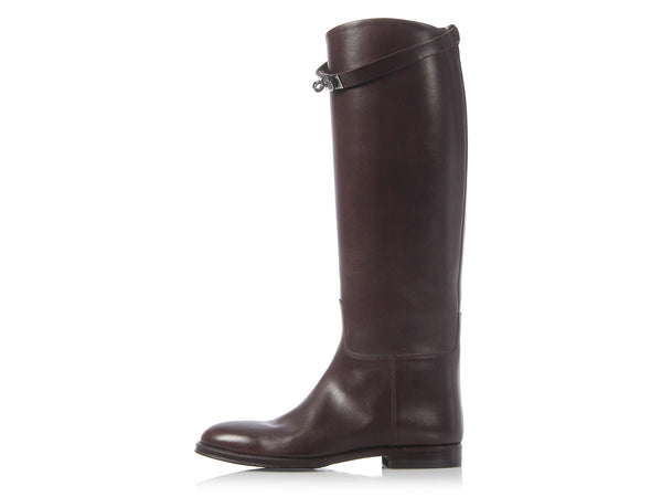 Hermès Brown Jumping Boots