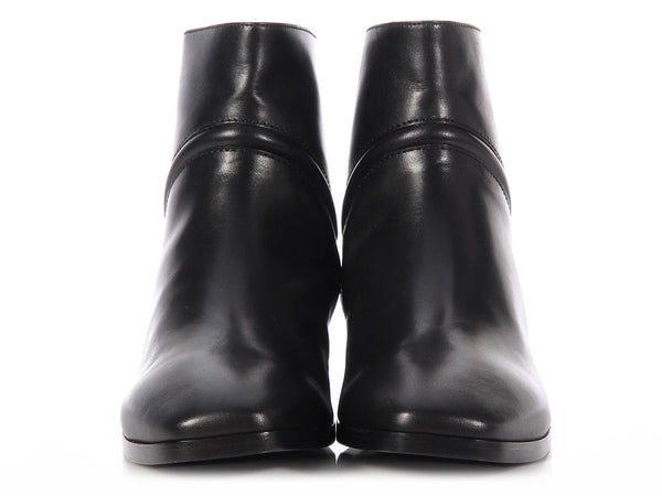 Hermès Black Louise Ankle Boots