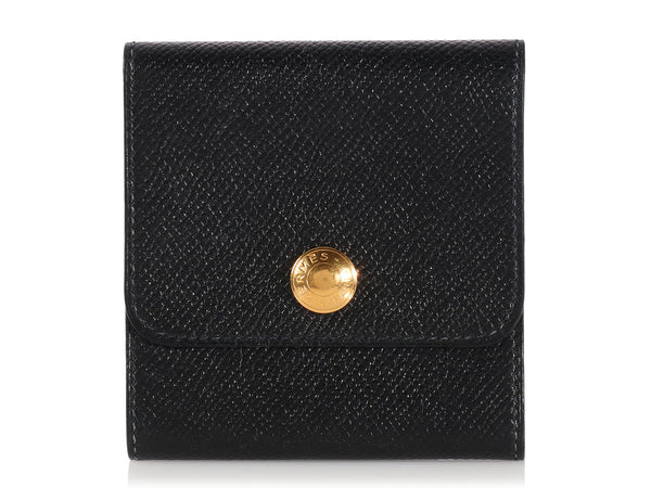 Hermès Black Post-It Holder