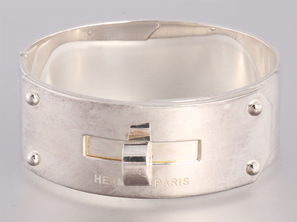 Hermès Sterling Kelly Bracelet MM