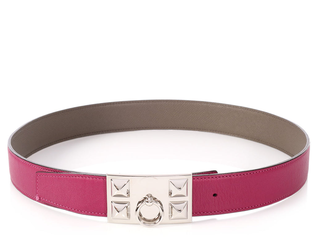 Hermés Tosca and Étain Reversible Belt Kit