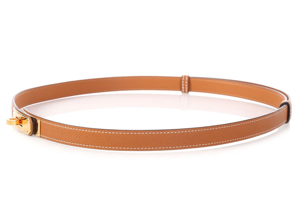 Hermès Gold Kelly Belt