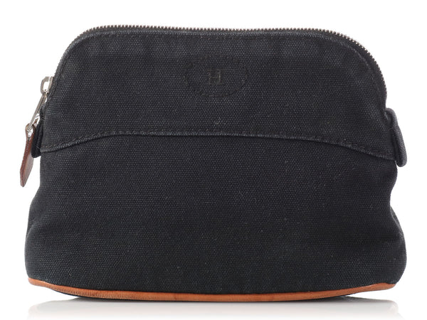 Hermès Black Bolide Cosmetics Case