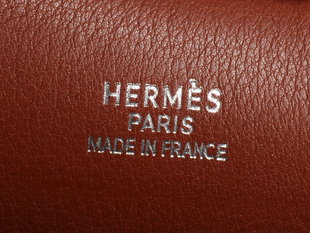 Hermès Brown Cabana Bag