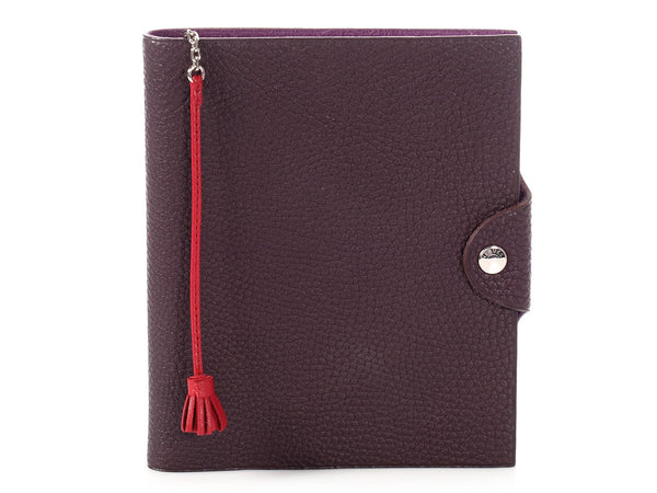 Hermès Raisin Ulysse PM Agenda Cover