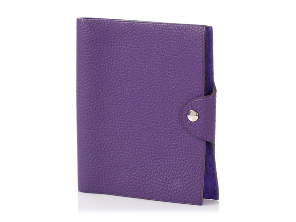 Hermès Iris Togo Ulysse Notebook Cover PM