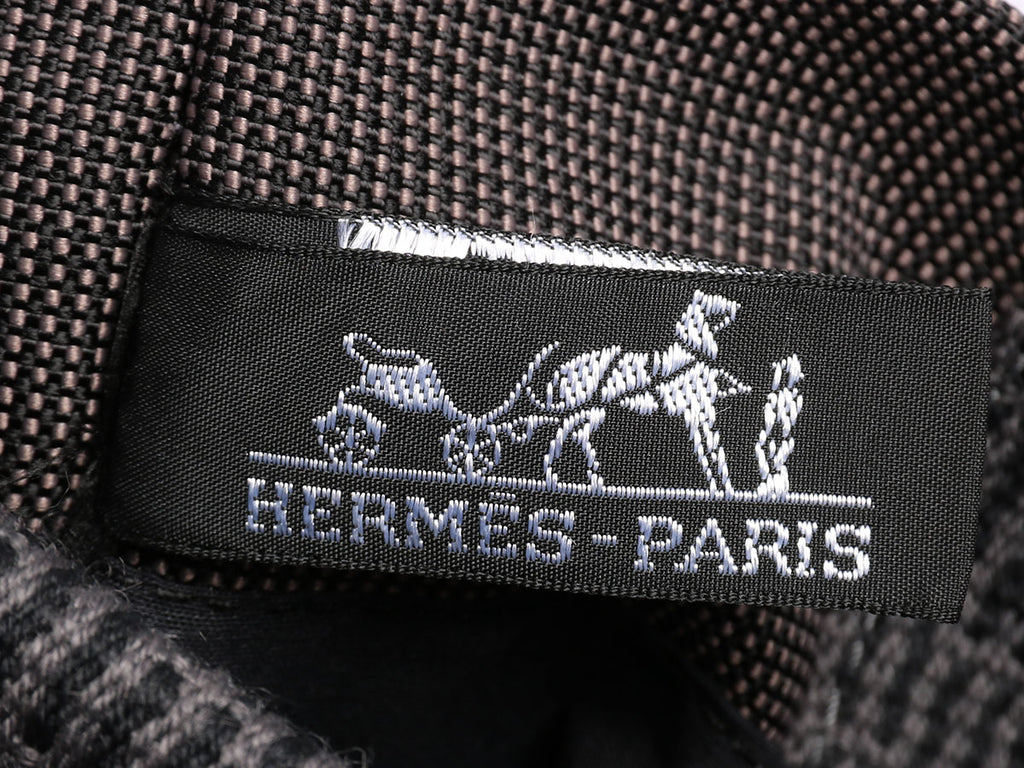 Hermès Small Gray Herline Pochette Crossbody