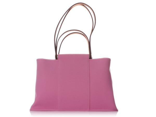 Hermès Pink Canvas Cabag Tote
