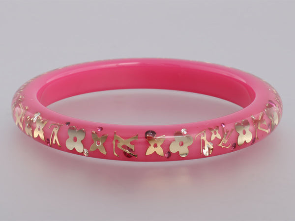Louis Vuitton Pink Inclusion Bracelet