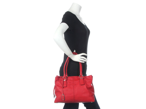 Tod Red Drawstring Tote
