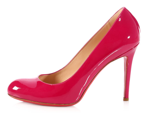Louboutin Framboise Simple Pumps 100