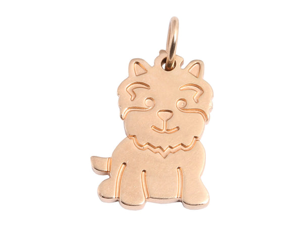 Tiffany & Co 18K Rose Gold Scottie Dog Charm