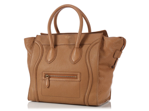 Céline Camel Mini Luggage